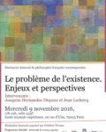 Séminaire doctoral Philosophie française contemporaine